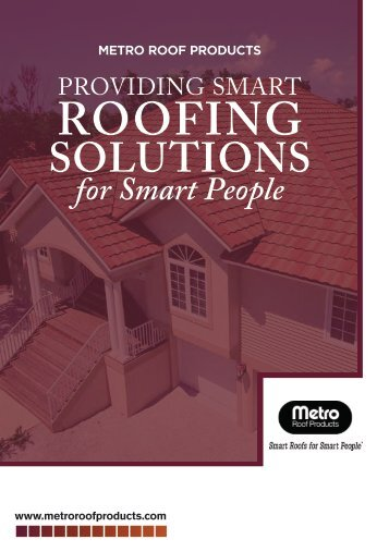 ROOFING - Metro Roof Products