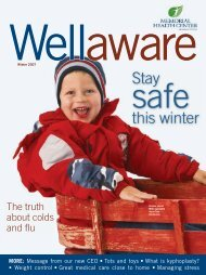 Stay this winter - Memorial Health Center