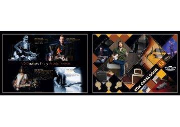 Product Catalogue Vol 18 Download PDF - Vox