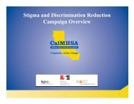 SDR Campaign Overview - CalMHSA