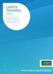 UNIPOL TRAINING 2012 - Unipol Student Homes