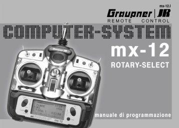 Bedienungsanleitung Graupner JR mx-12 (italienische ... - ROKE
