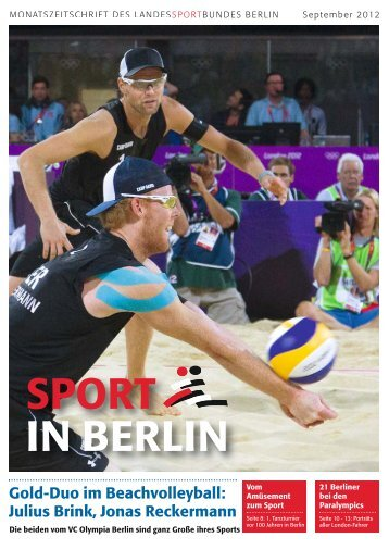 September 2012 - Landessportbund Berlin