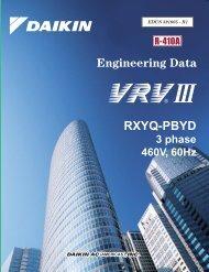 VRV III Heat Pump - Daikin AC
