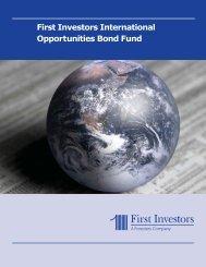 First Investors International Opportunities Bond Fund