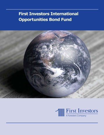 First Investors International Opportunities Bond Fund