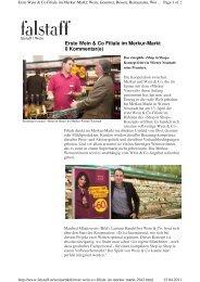 Erste Wein & Co Filiale im Merkur-Markt Kommentar(e)