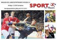 Sport in Hessen - Anzeigenpreisliste 2012 - lsb h-Vereinsberater