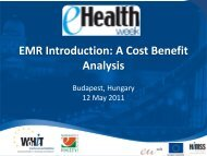 EMR Introduction: A Cost Benefit Analysis - World of Health IT