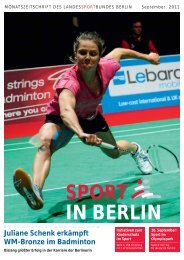 September 2011 - Landessportbund Berlin