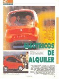 Eléctricos: En Francia se experimenta una flota de vehículos ...