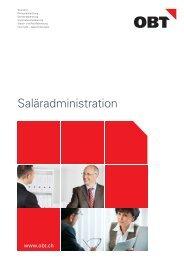 Dienstleistungsbeschrieb Saläradministration - obt