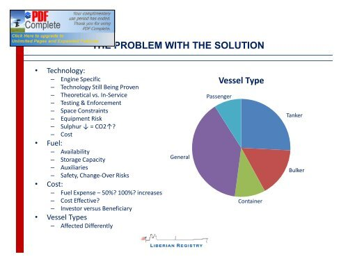 THE SOLUTION MARPOL ANNE