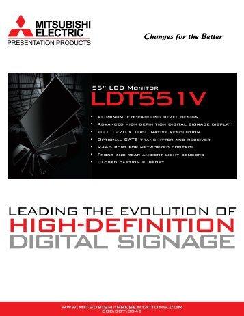 LDT551V - Sahara Presentation Systems