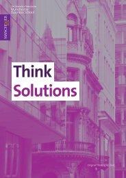 Original Thinking Applied - Manchester Business School