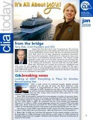 from the bridge breaking news - Cruise Lines International Association