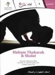 Hukum Thaharah '8: Shalat