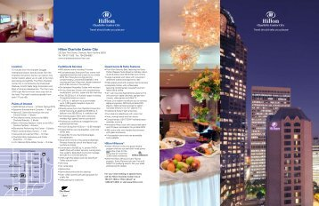 a hotel fact sheet. - ACI Home Energy Trainer Conference