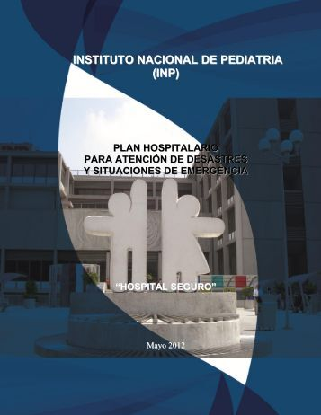 Programa de Manejo de Emergencias - Instituto Nacional de Pediatría
