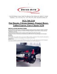 W21-760-2110 Fiat Ducato, Citreon Jumper, Peugoet ... - Outdoor Bits