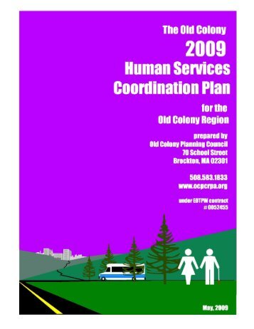 Coordination Plan - Old Colony Planning Council
