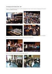 Konzert-Chronik 2008-2009 - Evangelisches Gymnasium ...