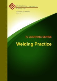 Welding Practice - The Hong Kong Polytechnic University