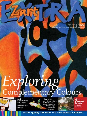 exploring complementary colours - Zart Art