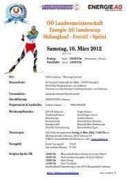 OÖ Landesmeisterschaft Energie AG Landescup ... - Nordic Skiteam