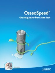 astra Osseospeed 3, page 1-20 @ Normalize - Astra Tech