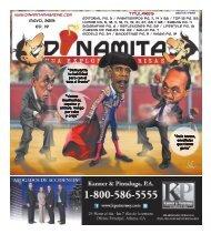 Mayo, 2013 Ed. 19 Titulares - Dinamita Magazine
