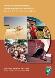 PROTECTED AREA MANAGEMENT: COLLECTION AND USE OF ...