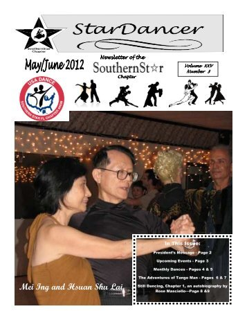 May/June 2012 Newsletter - Southern Star