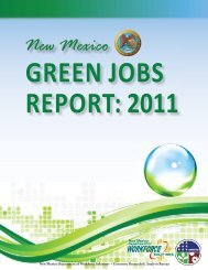 2011 Green Jobs Report.indd - New Energy Economy