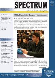 Volume 10, issue 1, February 2008 - Centre for Academic ...