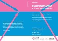 Schulqualität und Gender Mainstreaming.qxd (Page 1) - Efeu