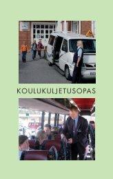 KOULUKULJETUSOPAS - Opetushallitus