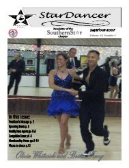 Sept/Oct 2007 Newsletter - Southern Star