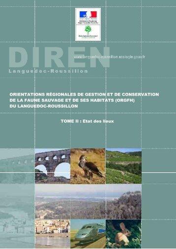 Etat des lieux - tome 2 - DREAL Languedoc-Roussillon
