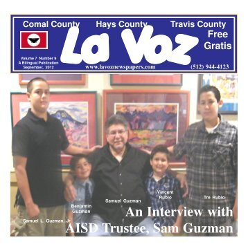 La Voz de Austin September 2012abc.pmd - La Voz Newspapers