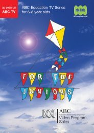 ABC Education TV Series for 6-8 year olds - ABC Commercial