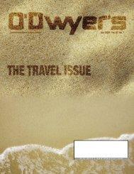 Jul. '13 Travel & Tourism PR Magazine (PDF) - Odwyerpr.com