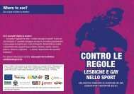 Contro le regole - Football for Equality