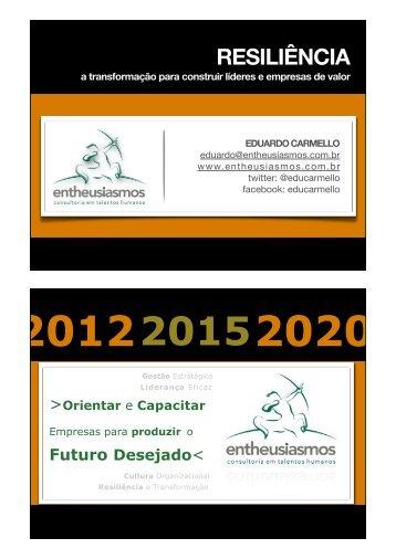 Eduardo Carmello - Futuro Eventos