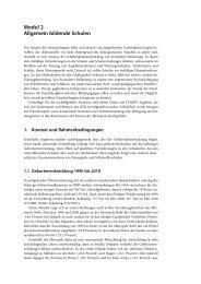 Modul 2 Allgemein bildende Schulen - Metropole Ruhr