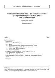 Erdbeben in Bielefeld 1612 - Westfälische Wilhelms-Universität ...