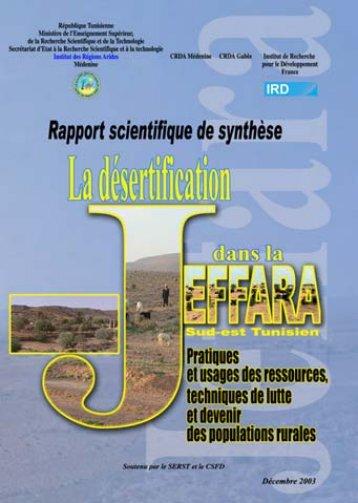 La Jeffara tunisienne, rapport scientifique de synthèse - LPED