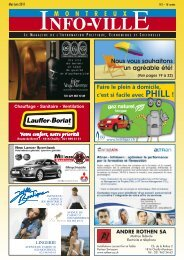 Info-Ville mai juin 2011 - MontreuxInfoVille