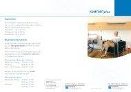 Komfortplus - Ihr Aufenthalt - Klinikum Friedrichshafen GmbH