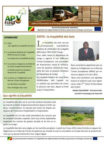 EDITO : la traçabilité des bois - Capacity4Dev